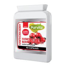 Hawthorn Berry HIGH Strength Formula 3600mg Antioxidant Heart STRONG Potent UK