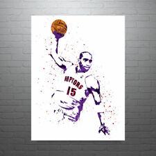 Vince Carter Toronto Raptors Poster FREE US SHIPPING