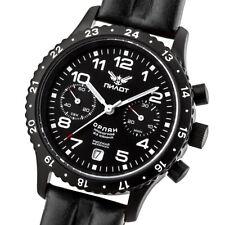 PILOT ORLAN Chronograph Poljot 3133 Fliegeruhr Handaufzug russische Uhr
