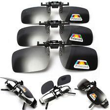 Polarized Clip-On Flip-Up Lens UV400 Sunglasses Driving Glasses Men & Women