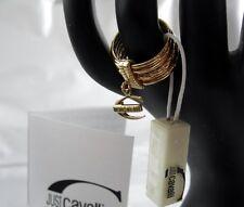Just Cavalli Ring Infinity Gold Designer Schmuck JC18