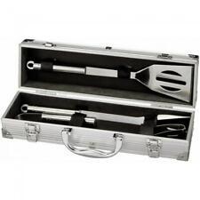 Grillset/Grillbesteck mit individueller Gravur auf allen 3 Teilen und dem Koffer