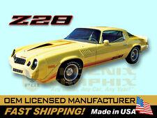 1979 Chevrolet Camaro Z28 Decals & Stripes Kit