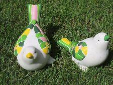 Vogel, Gartentier, Keramik, Höhe 16 cm