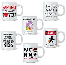 Funny Fart Mug Joke Tea Coffee Mug Cup Gift Poo Novelty 11oz White Mug