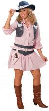 Cowgirl Damenkostüm rosa 2-teilig NEU - Damen Karneval Fasching Verkleidung Kost