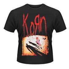 KORN T-shirt Logo Black (S - XXXL) NEW OFFICIAL Follow The Leader Jonathan Davis