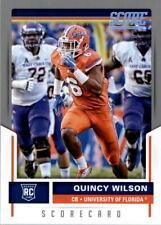 2017 Score Scorecard #410 Quincy Wilson - NM-MT