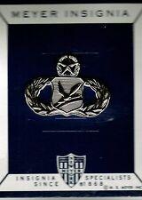 USAF MASTER CHAPEL MANAGEMENT BADGE ON MEYER CARD OF ISSUE