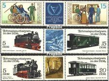 DDR WZd500,WZd506,WZd512 (kompl.Ausgaben) postfrisch 1981 Sondermarken EUR 3,10