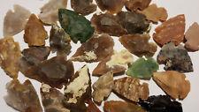 Pakete B-WARE Pfeilspitzen Jaspis Steinzeit Nachbau pointes fleche punta freccia