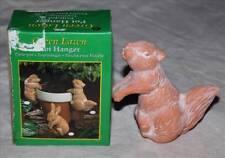 Céramique animal pot hanger-divers styles-chien, lapin, écureuil