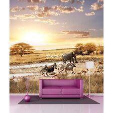 Aufkleber riesig Deko Landschaft safari 11089 11089
