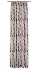 Fertiggardine / Jacquard Vorhang Bray Farbe 46 terra / 5 Größen