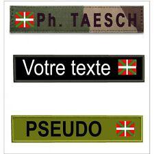 Bande patro avec drapeau Basque