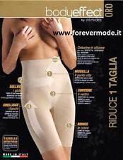 Guaina donna Intimidea con gamba lunga Body Effect riduce 1 taglia art 410618