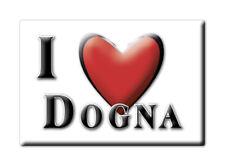 CALAMITA FRIULI VENEZIA GIULIA FRIDGE MAGNET MAGNETE SOUVENIR LOVE DOGNA (UD)