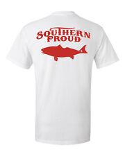 Southern Proud Brand t shirt cracker country south redfish fish fishing flats