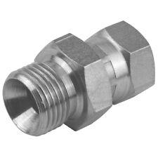 """Hydraulic mâle x pivotant femelle bsp adaptateur 60 ° cône 1/8"""" à 1.1/2"""" pompe valve"""