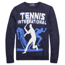 $1,295 Ralph Lauren Purple Label Wimbledon Knit Cashmere Tennis Cycling Sweater