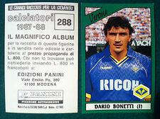 CALCIATORI 1987-88 87-1988 n 288 VERONA BONETTI - Figurina Panini Sticker (NEW)