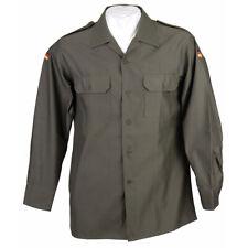 ORIGINAL BW BUNDESWEHR FELDHEMD oliv grün, Bundeswehrhemd Feldbluse Hemd NEUWARE