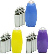 One Press Air Freshener Diffuser + Refills Various Fragrances to Choose