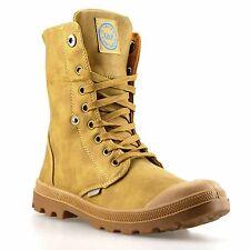 Señoras Mujeres Caminar para senderismo y Con Cordones Combate Ejército Botas al Tobillo Zapatos Talla
