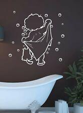 Wandtattoo Wandbild Aufkleber Sticker Seifenblasen Badezimmer