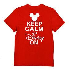"""Keep Calm and Disney On"" T-shirt"