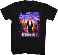 Dead Rising 2 Capcom X Box 360 Video Game Purple Action Shot Adult T Shirt