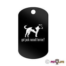 Got Jack Russel Terrier Engraved Keychain Gi Tag dog profile jrt parson v2