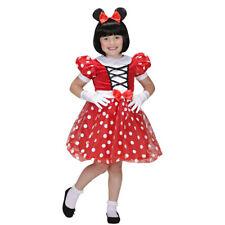 Mäusekostüm Kleid 104 cm 2-3 Jahre, Minnie Mouse Kostüm Disney Maus Kinderkostüm