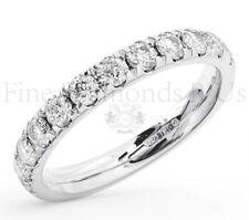1.00CT Round Brilliant Cut Diamond Eternity Ring Wedding Available in Platinum