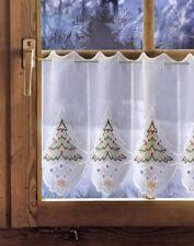 Weihnachtsdeko Gardinen.Gardinen Vorhänge Im Weihnachts Stil Plauener Spitze Günstig