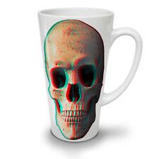 3D cranio di scheletro umano NUOVO White Tea Tazza Da Caffè Latte Macchiato 12 17 OZ | wellcoda