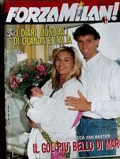 Forza Milan 6 1990 Marco Van Basten - Mondiali Italia 90