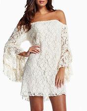 Mini Vestito Donna in Pizzo Elastico - Woman Mini Dress Lace 110003 P