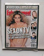 1990s Entertainment Weekly Magazine #497- SEX ON TV/DAWSONS CREEK/ALLY MCBEAL