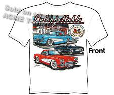 Corvette Shirts Stingray Chevy T Shirts Chevrolet Tee 56 57 58 59 63 64 65 66 67
