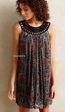 NEW Anthropologie Moulinette Soeurs Linnea Velvet Dress  Size XS-S-M-L  $228