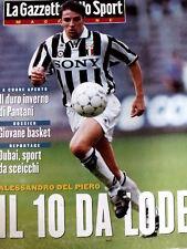 Gazzetta dello Sport Magazine 8 1995 Alessandro Del Piero il 10 da Lode juventus