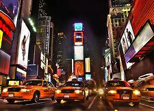 Sticker mural géant New York Taxi 260x360cm