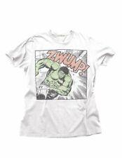 Junk Food Incredible Hulk Zwump Adult White T-Shirt