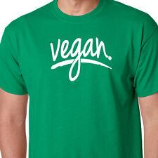 VEGAN vegetarian animal lover organic eating clean diet lifestyle PETA T-shirt