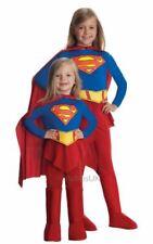 SuperGirl Girls Costume Kids Marvel DC Comics Superhero Fancy Dress Outfit Lice