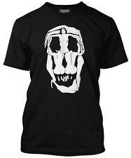 Dali Skull Mens Black T-Shirt Salvador Dali Classic tablaeu Art Print NEW