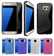 S-Gel Wave Tough Shockproof Phone Case Gel Cover Skin Samsung Galaxy S7 edge