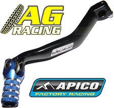 Apico Forged Gear Pedal Lever Shifter Black Blue Yamaha YZ 250F 2003-2005 03-05