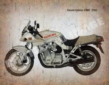 Suzuki Katana 1000 1982  MOTORCYCLE VINTAGE METAL TIN SIGN POSTER WALL PLAQUE